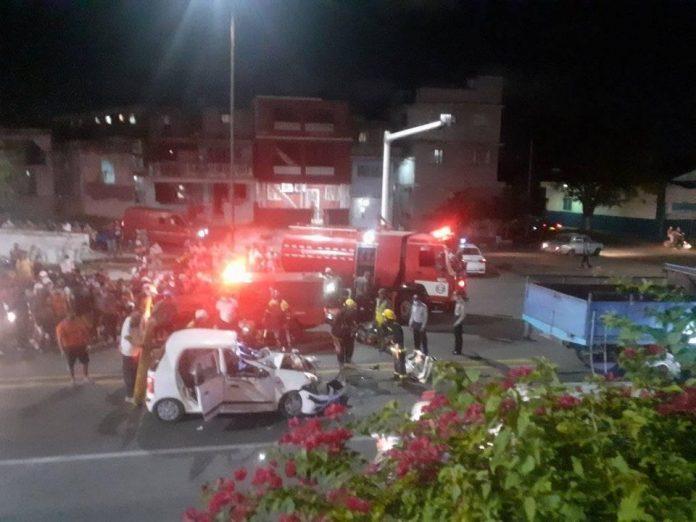 Accidente en La Habana Vieja