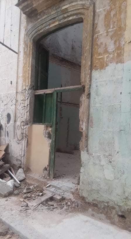 Denuncian derrumbe en La Habana