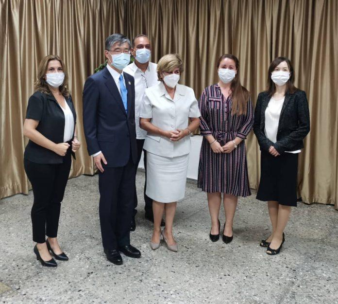 Japón dona a Cuba insumos para el coronavirus por valor de 4.7 millones de dólares