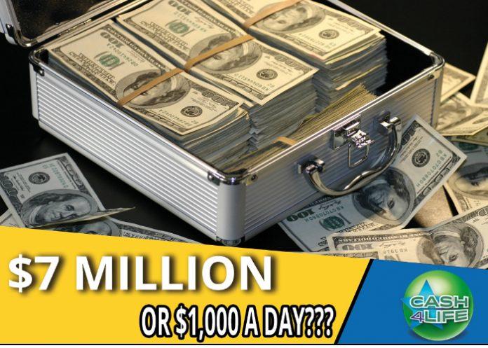Lotería de la Florida entrega 1.000 dólares por semana y de por vida