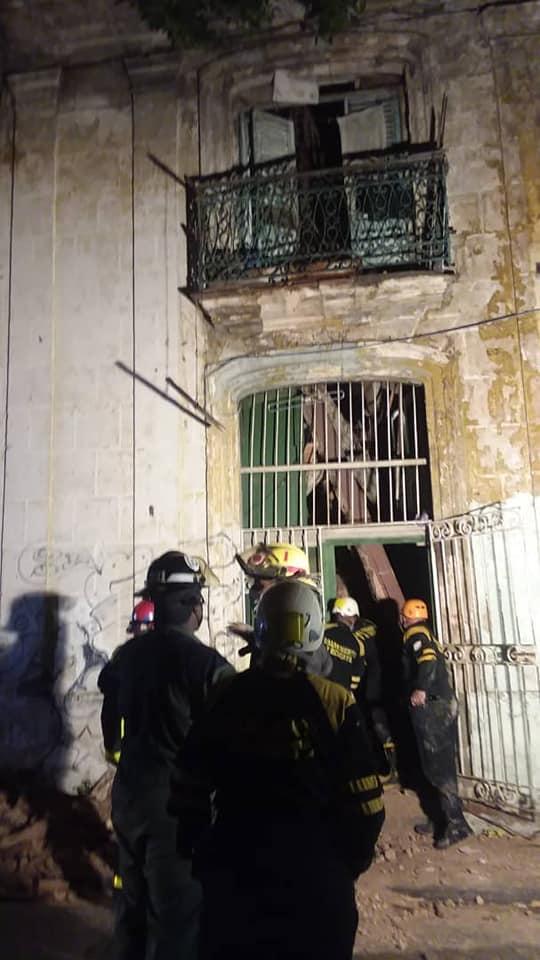 Se derrumba una vivienda en La Habana