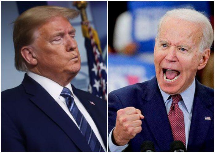 Biden aventaja a Trump en las encuestas a un mes para las elecciones