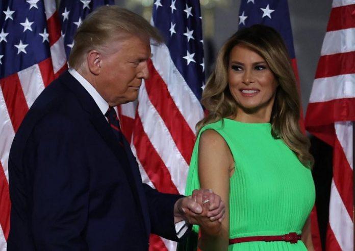 Cómo se encuentra Melanie Trump, la esposa de Donald Trump