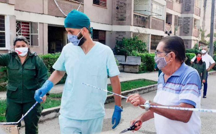 Cuba registra 15 casos positivos al coronavirus, la cifra más baja en 4 semanas