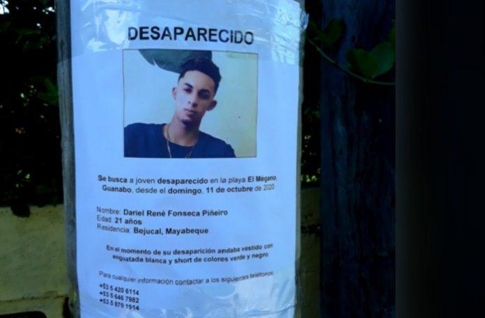 Hallan muerto al joven cubano desaparecido desde el domingo