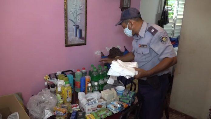 MININT realiza fuerte registro en vivienda de La Habana