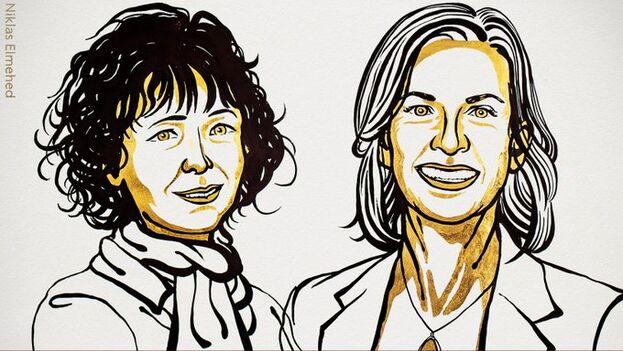 Premio Nobel de Química 2020 para dos investigadoras con estudios la edición del genoma