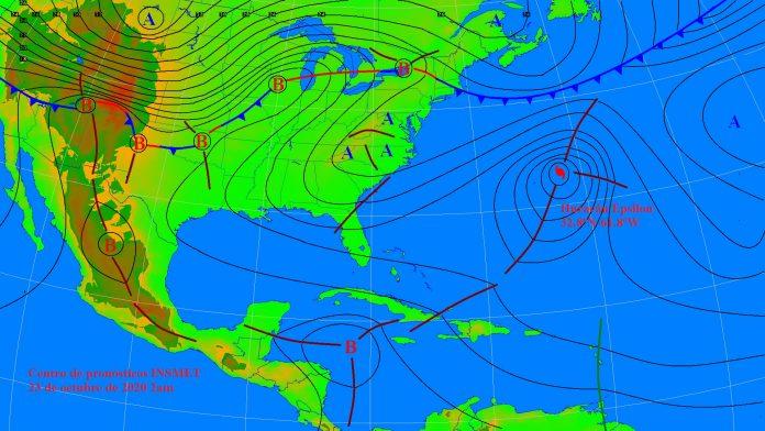 Tormenta tropical se formaría al sur de Cuba
