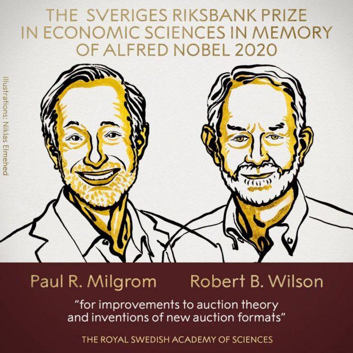 ¡Premio Nobel de Economía 2020 es para 2 estadounidenses especialistas en subastas