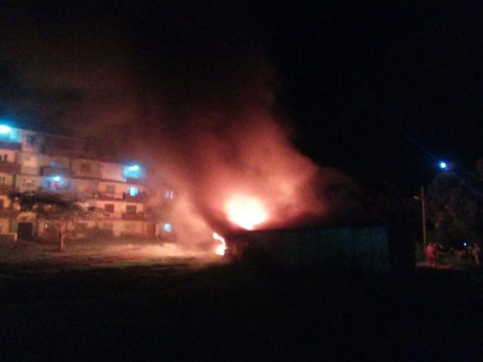 Incendio en el municipio Moa