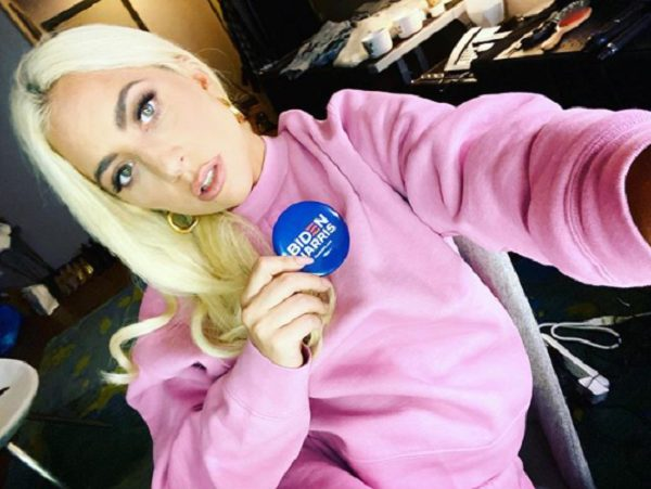 La cantante quiso a ayudar al candidato a la presidencia Joe Biden