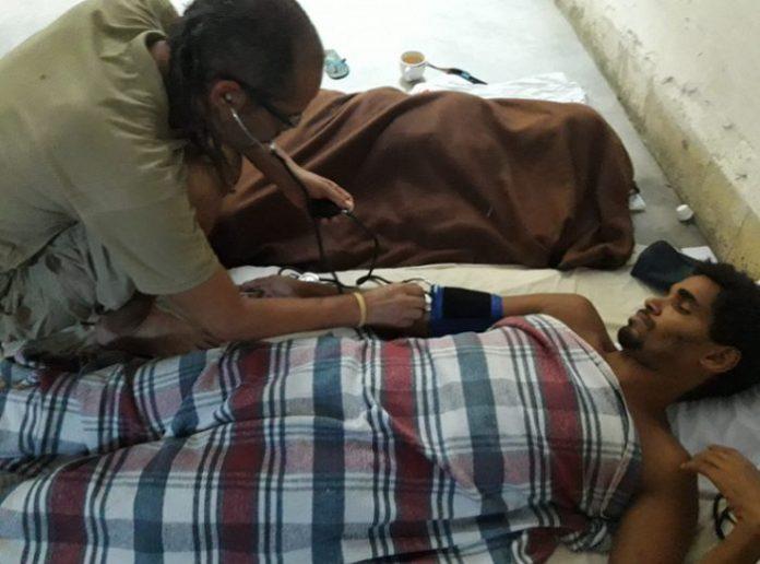 Luis Manuel Otero y Maykel Castillo debilitados tras cinco días en huelga de hambre