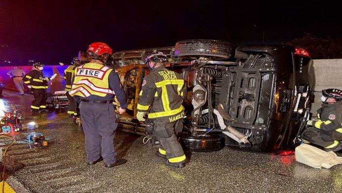 Accidente de tránsito en la Florida