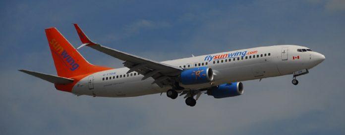 Vuelos a Cuba. Sunwing Airlines inicia operaciones desde Canadá