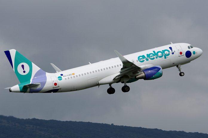 Evelop suspende vuelo de Madrid-Habana programado para este 12 de enero